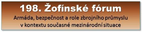 198. Žofínské fórum
